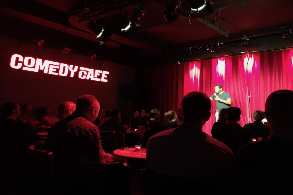 Stand up comedy in Amsterdam