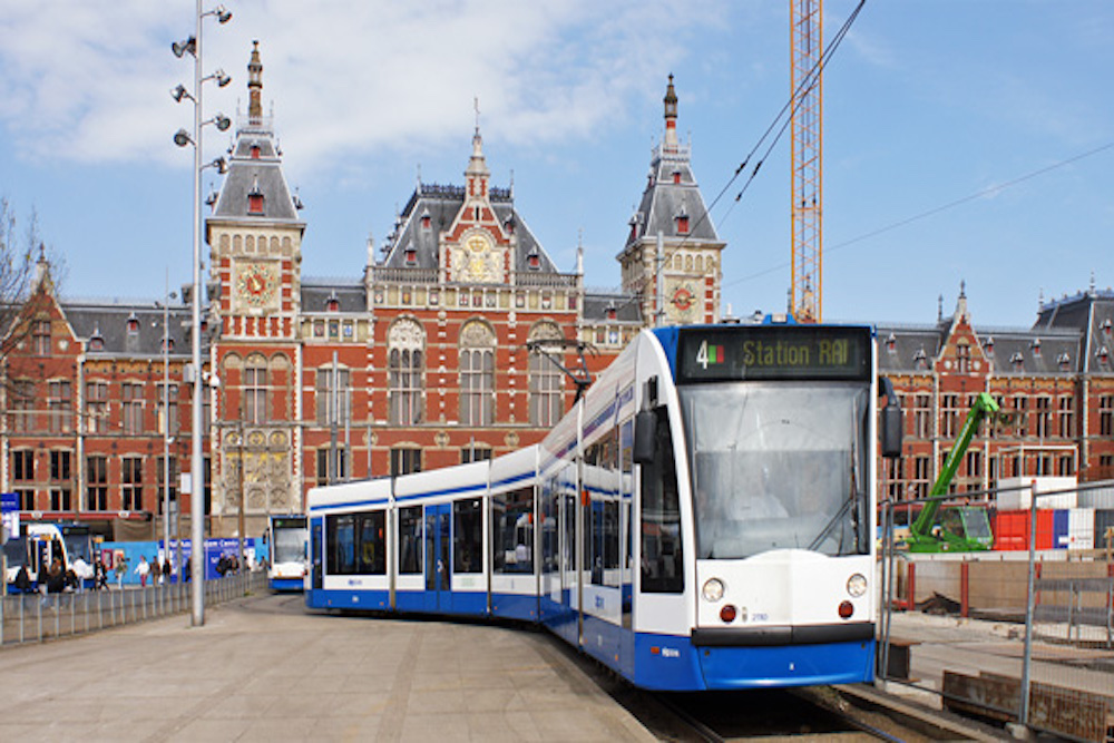 The Amsterdam Trams