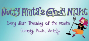Nutty Anita comedy night